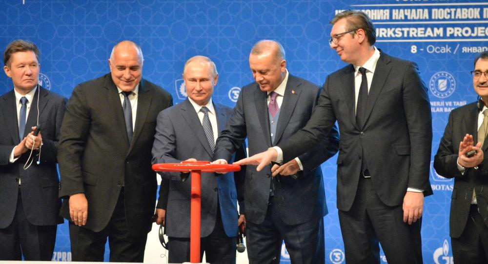 Ve TürkAkım'da vanalar açıldı