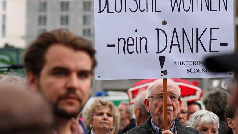 """Berlin halkı, kira artışına """"dur"""" dedi"""