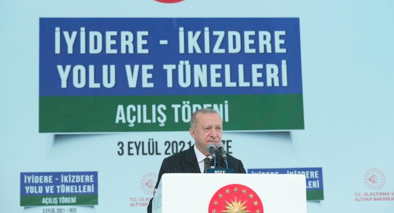 Cumhurbaşkanı Erdoğan, Karadenizlilere böyle seslendi