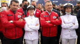 Cumhurbaşkanı Yardımcısı Fuad Oktay TEKNOFEST'i ziyaret etti