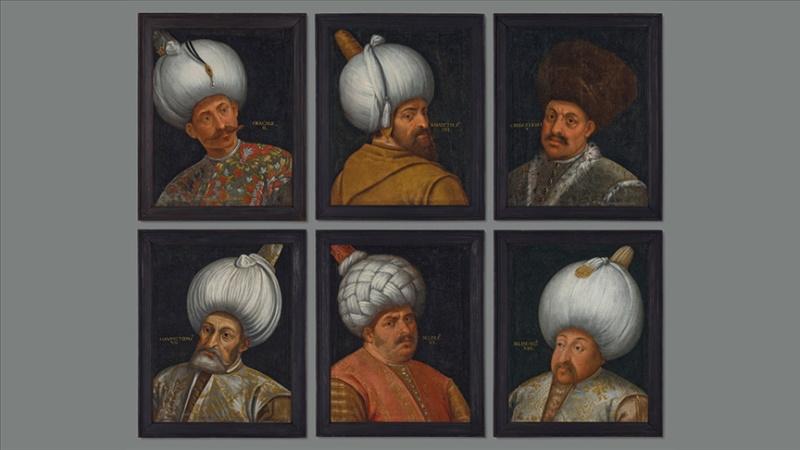 Osmanlı padişahlarının portreleri açık artırmada
