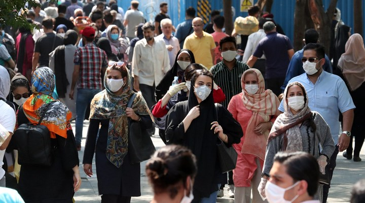 İran'da Covid-19 ölümleri 110 bini aştı