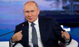 "Rus halkı yine ""Putin"" dedi"