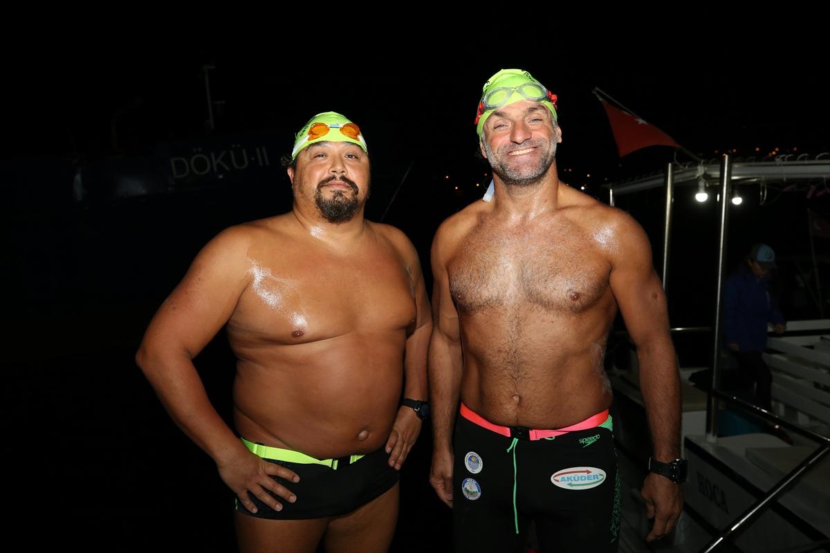 1. İskenderun Körfezi Açık Deniz Yüzme Maratonu başladı
