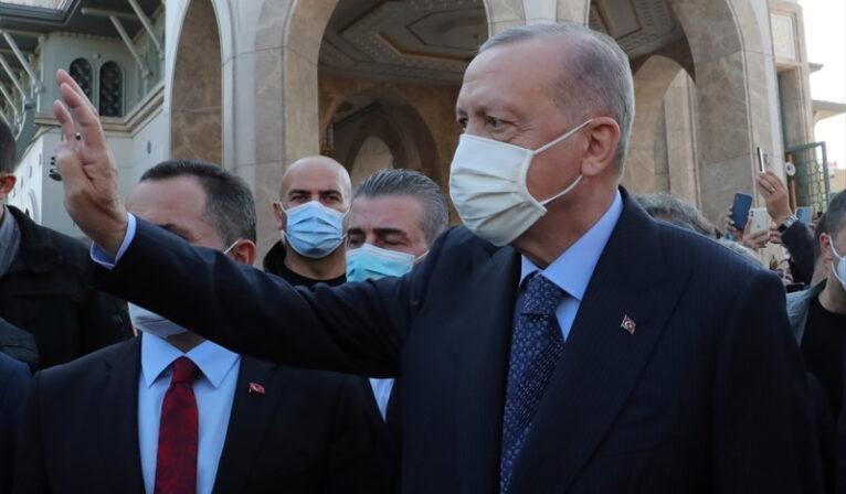 """Cumhurbaşkanı Erdoğan, halka böyle seslendi: """"Mal mülk için değil, Allah için…"""""""