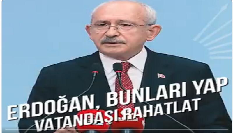 Kılıçdaroğlu'nun kış önerileri