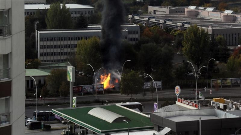 Ankara MTA Yerleşkesinde patlama oldu