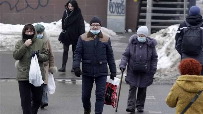 Ukrayna'da Kovid-19 kaynaklı ölüm sayısında rekor