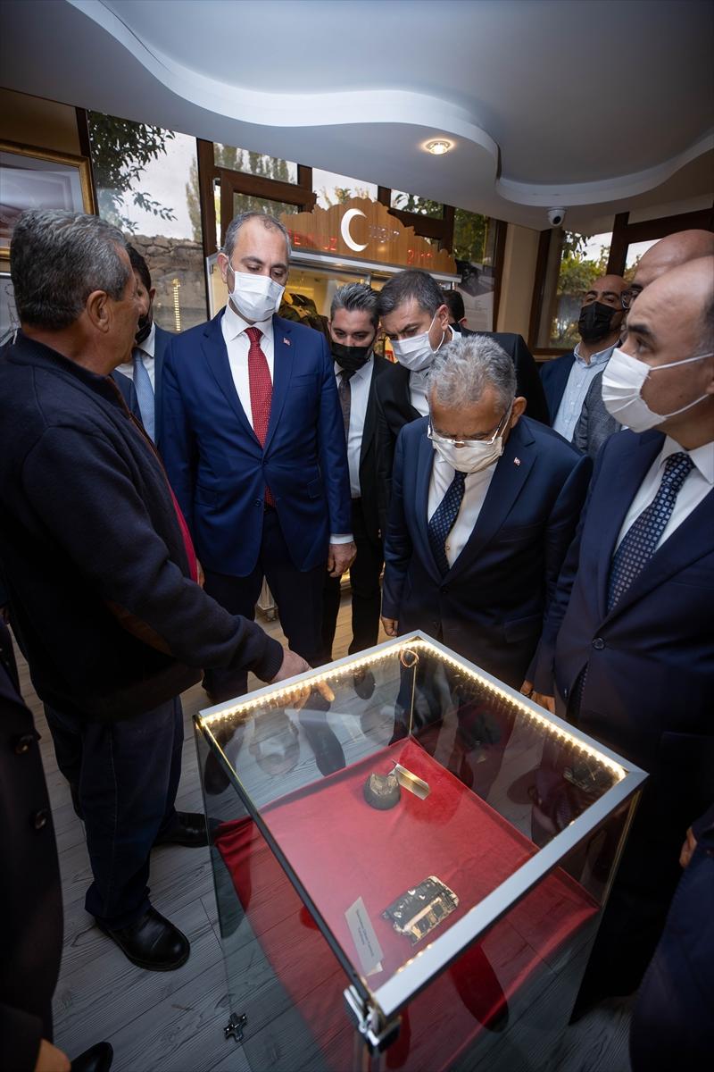 Adalet Bakanı Abdulhamit Gül, Kayseri'de 15 Temmuz şehidinin ailesini ziyaret etti: