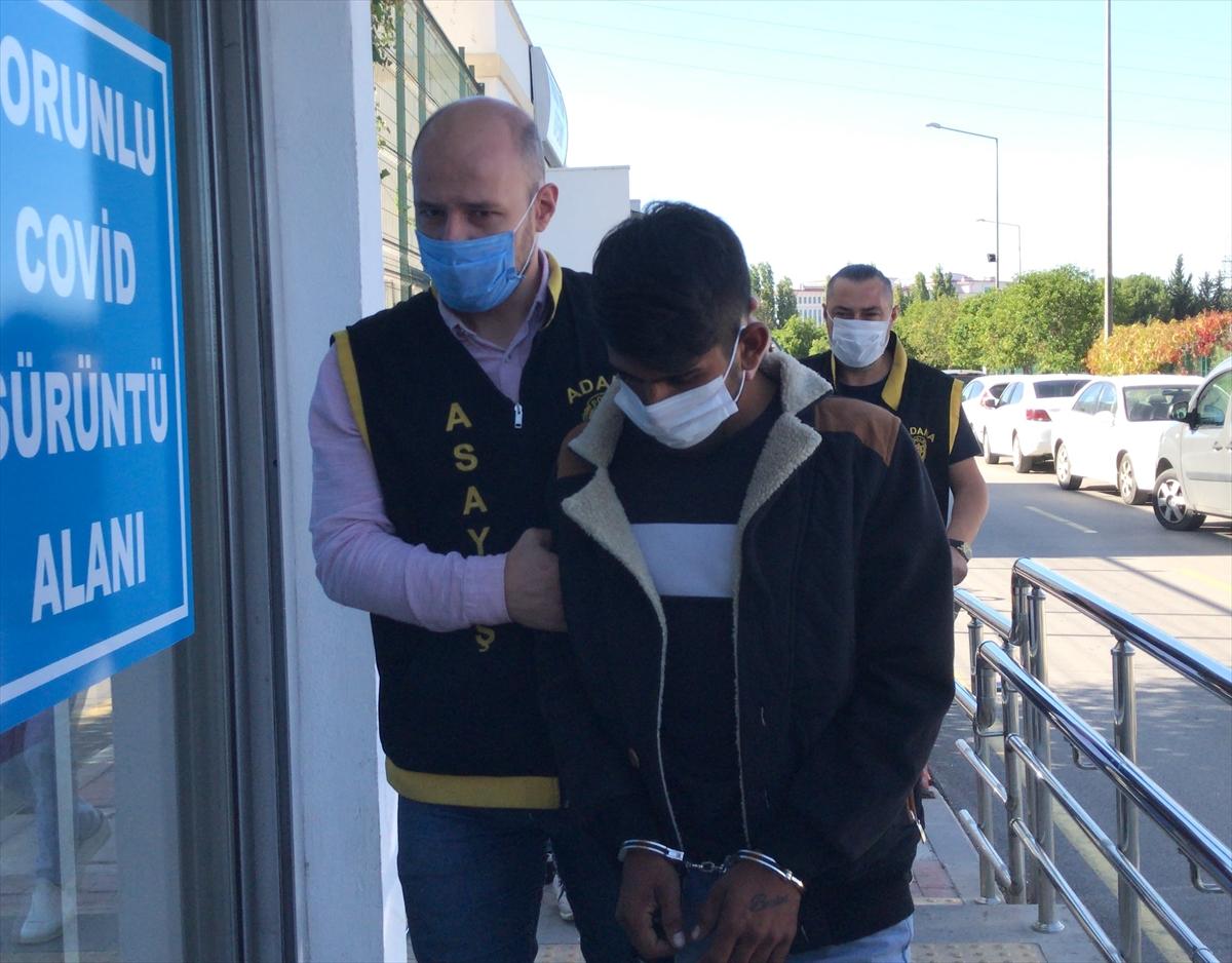 Adana'da kuyumcu çalışanını silahla yaraladıkları iddiasıyla 2 şüpheli tutuklandı