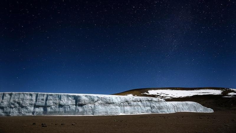 Afrika'nın nadir buzulları erime tehditi altında