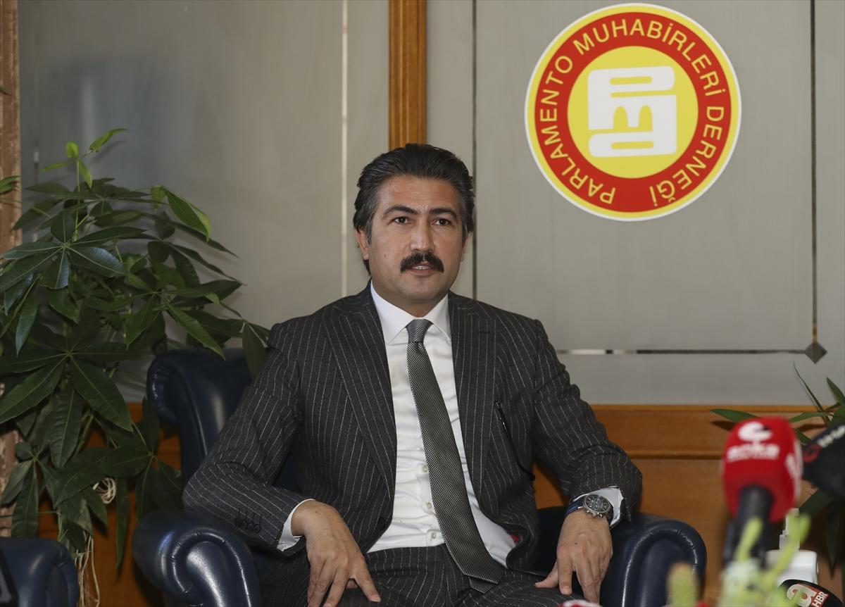 AK Parti Grup Başkanvekili Özkan'dan, PMD'ye Dünya Gazeteciler Günü ziyareti: