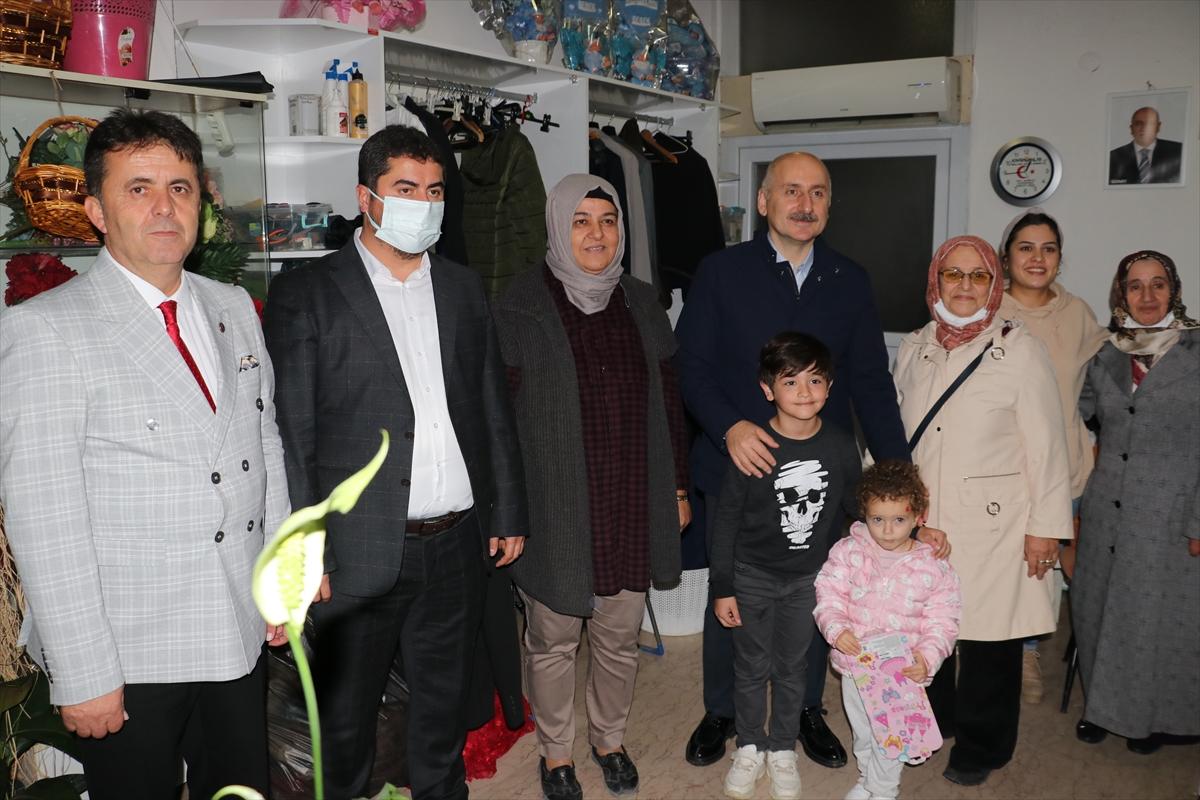 Bakan Karaismailoğlu, Sinop'un Türkeli ilçesini ziyaret etti