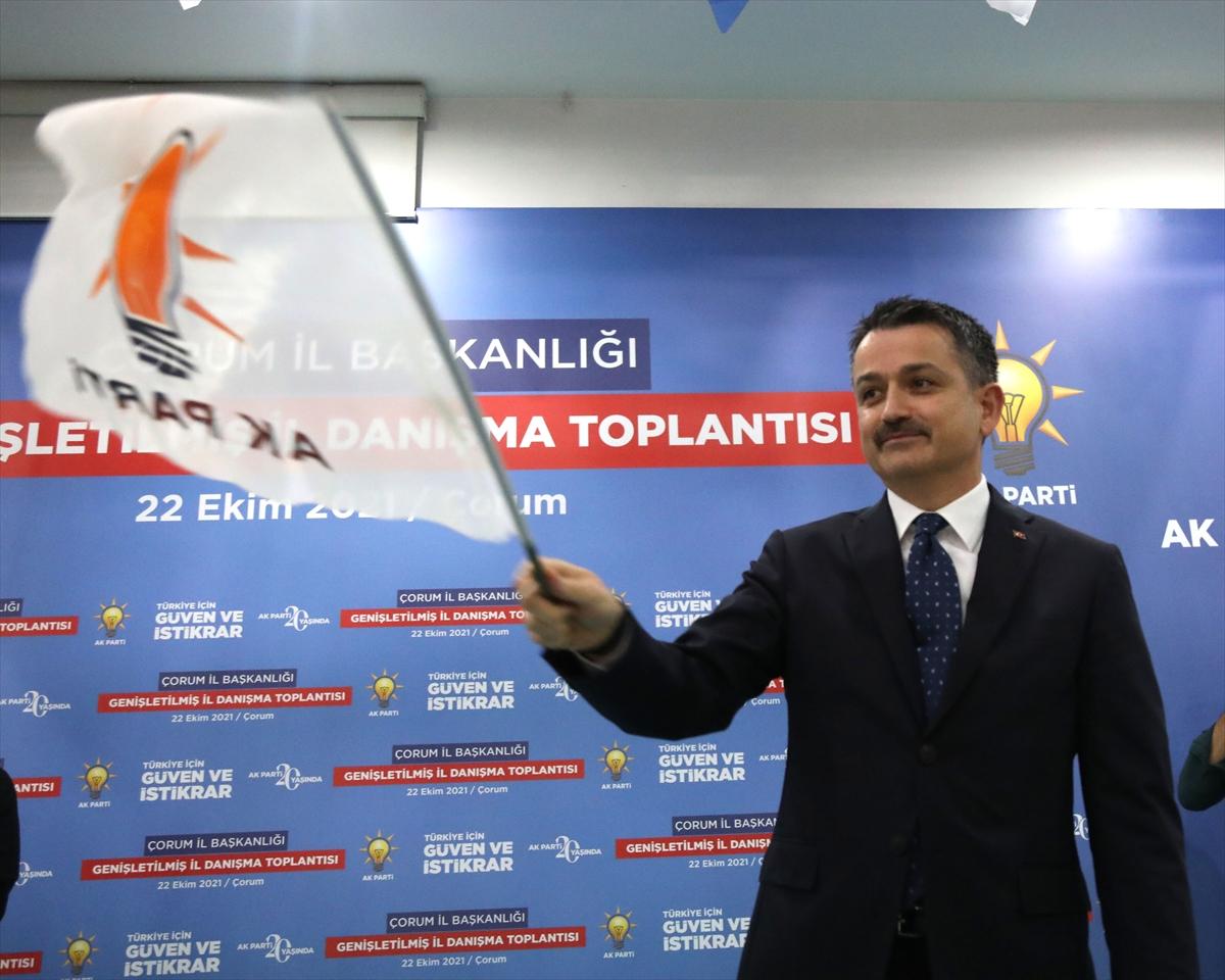 """Bakan Pakdemirli'den muhalefet partilerine """"tarımı siyaset dışı tutalım"""" çağrısı:"""