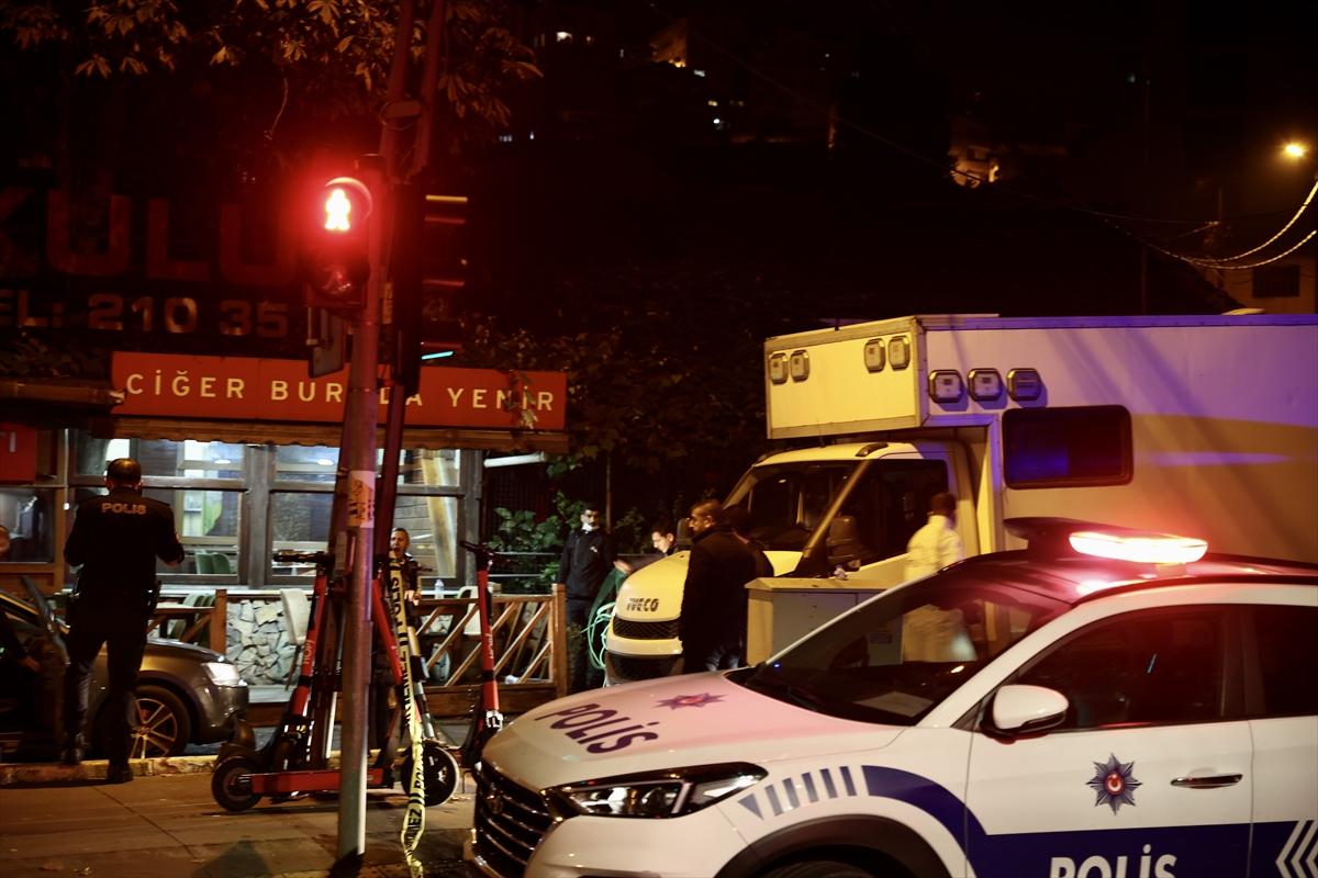 Beyoğlu'nda restorana düzenlenen silahlı saldırıda 5 kişi yaralandı