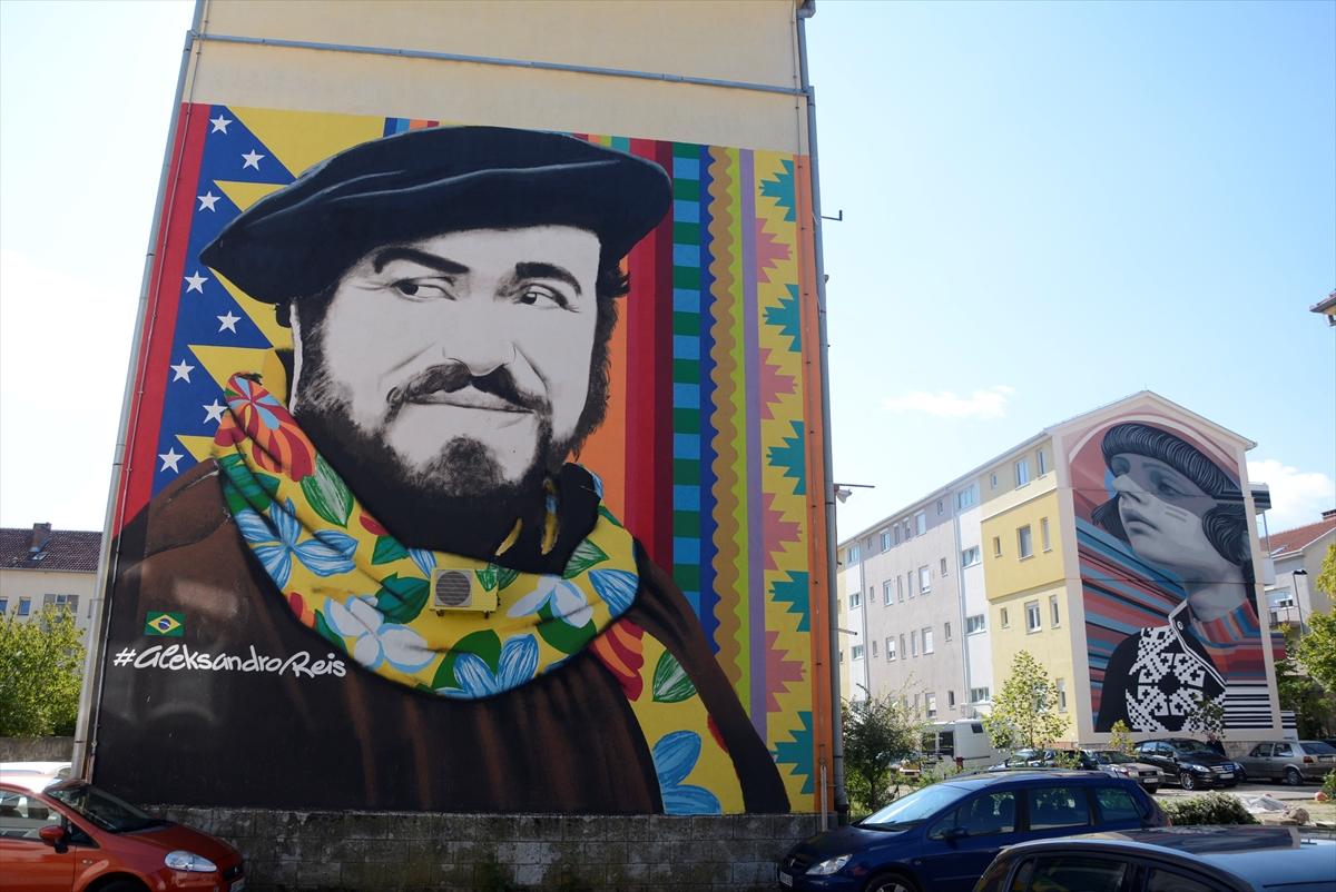 Bosna Hersek'in Mostar kentini süsleyen duvar resimleri en iyiler arasında gösterildi