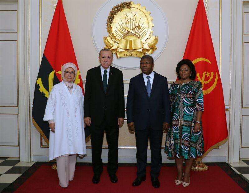 Erdoğan'ın Angola ziyareti sonucu 7 anlaşma imzalandı