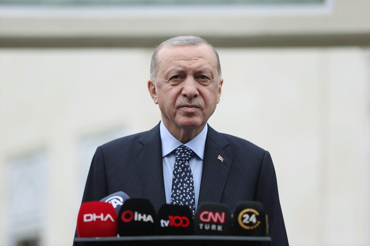 """Cumhurbaşkanı Erdoğan'dan Kılıçdaroğlu'na: """"Merkez Bankası bağımsız olduğu için randevuyu sana istediğin gün verdi"""""""