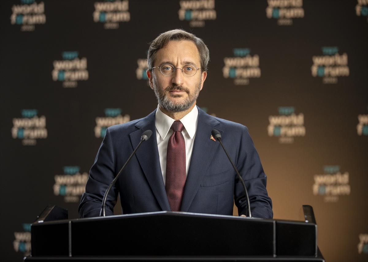 """Cumhurbaşkanlığı İletişim Başkanı Altun, """"TRT World Forum 2021″in açılışında konuştu:"""