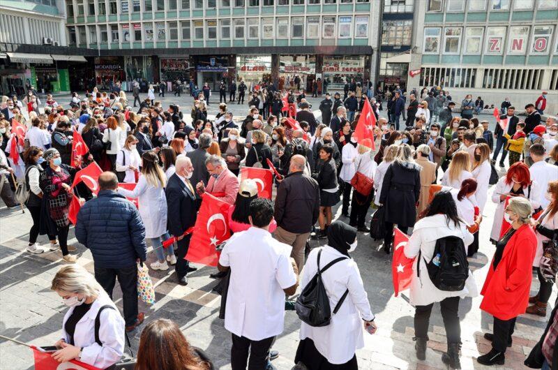 Epilasyon cihazlarının yasaklanması protesto edildi