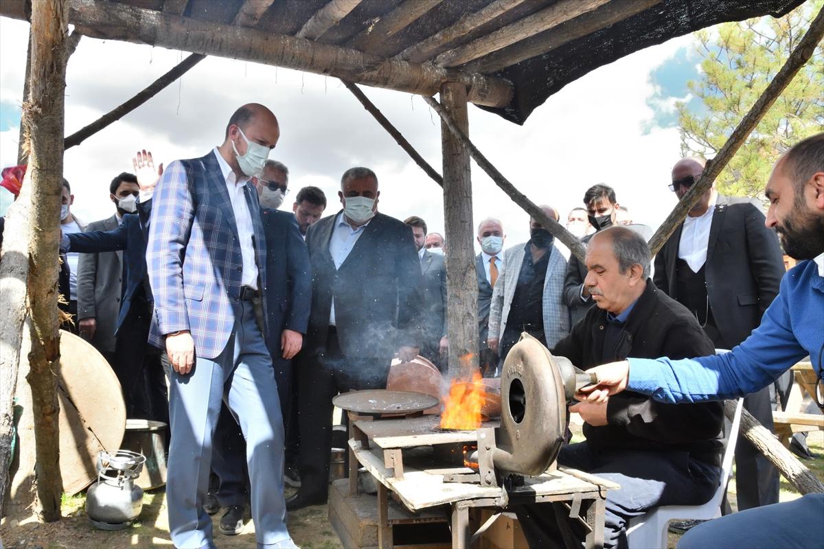 Dünya Etnospor Konfederasyonu Başkanı Bilal Erdoğan, ilk oba konseptli gençlik kampını açtı: