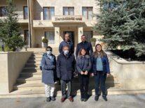 EÜ Türk Dünyası Araştırmaları Enstitüsü ekibi Şuşa'da incelemelerde bulundu