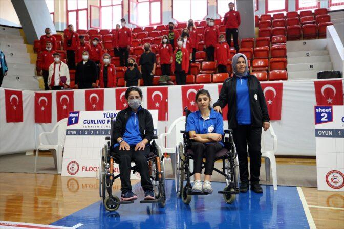 Floor Curling Türkiye Şampiyonası, Adana'da başladı