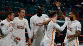 Galatasaray zirveye oturdu
