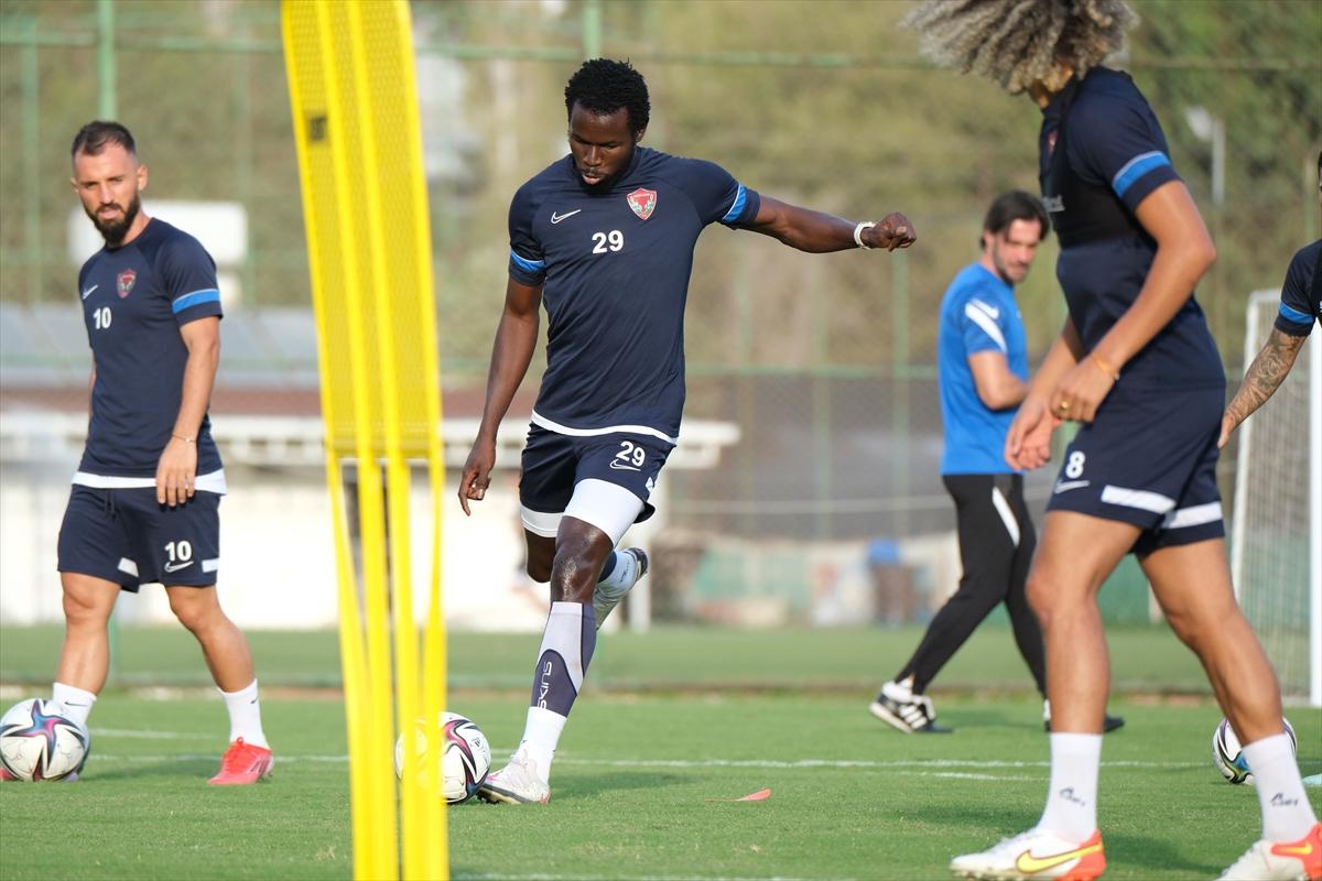 Hatayspor, Gaziantep maçının hazırlıklarına devam etti