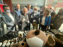 İzmir'deki arkeolojik kazılarda aslan ve panter kemikleri bulundu