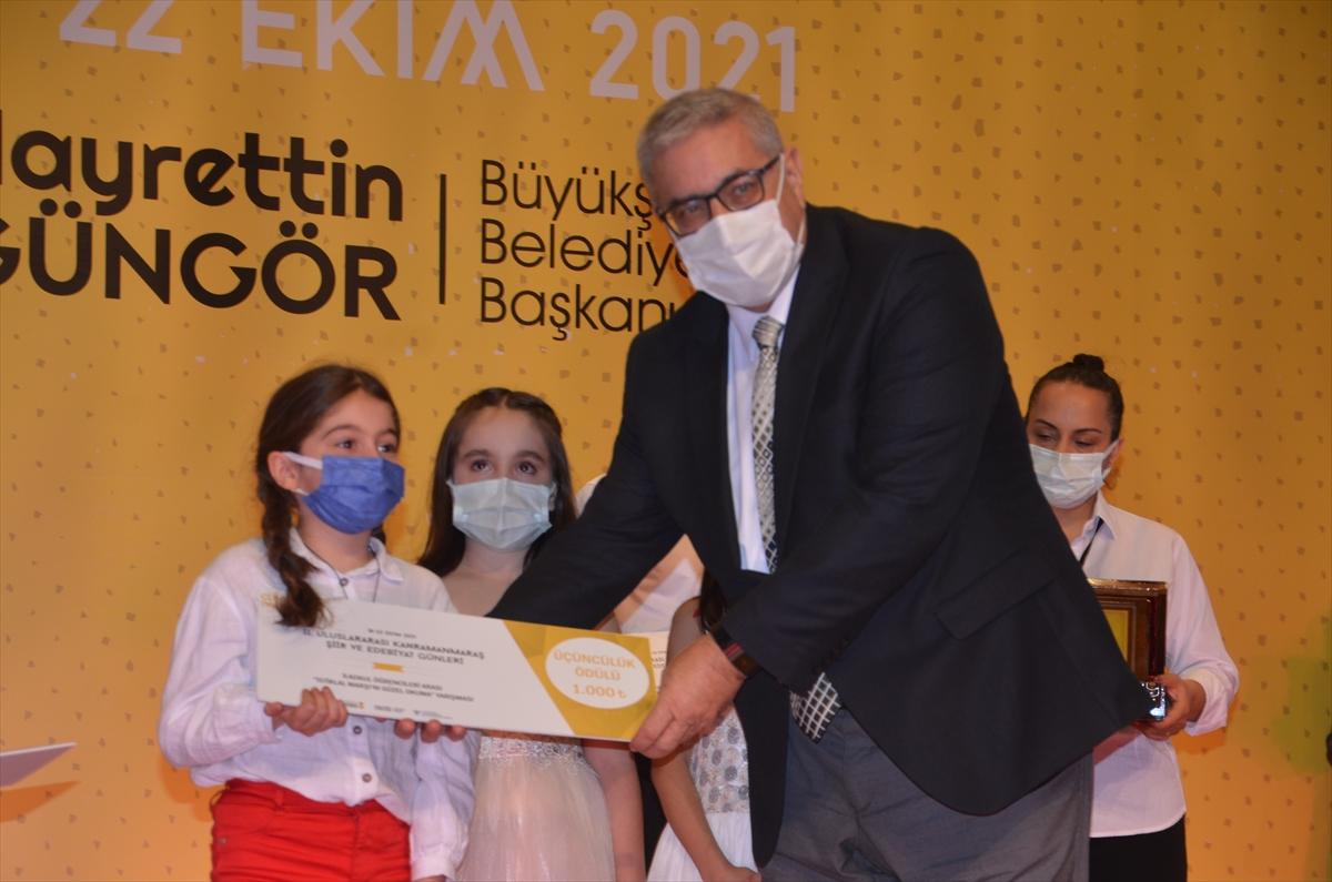 Kahramanmaraş'ta 2. Uluslararası Şiir ve Edebiyat Günleri başladı
