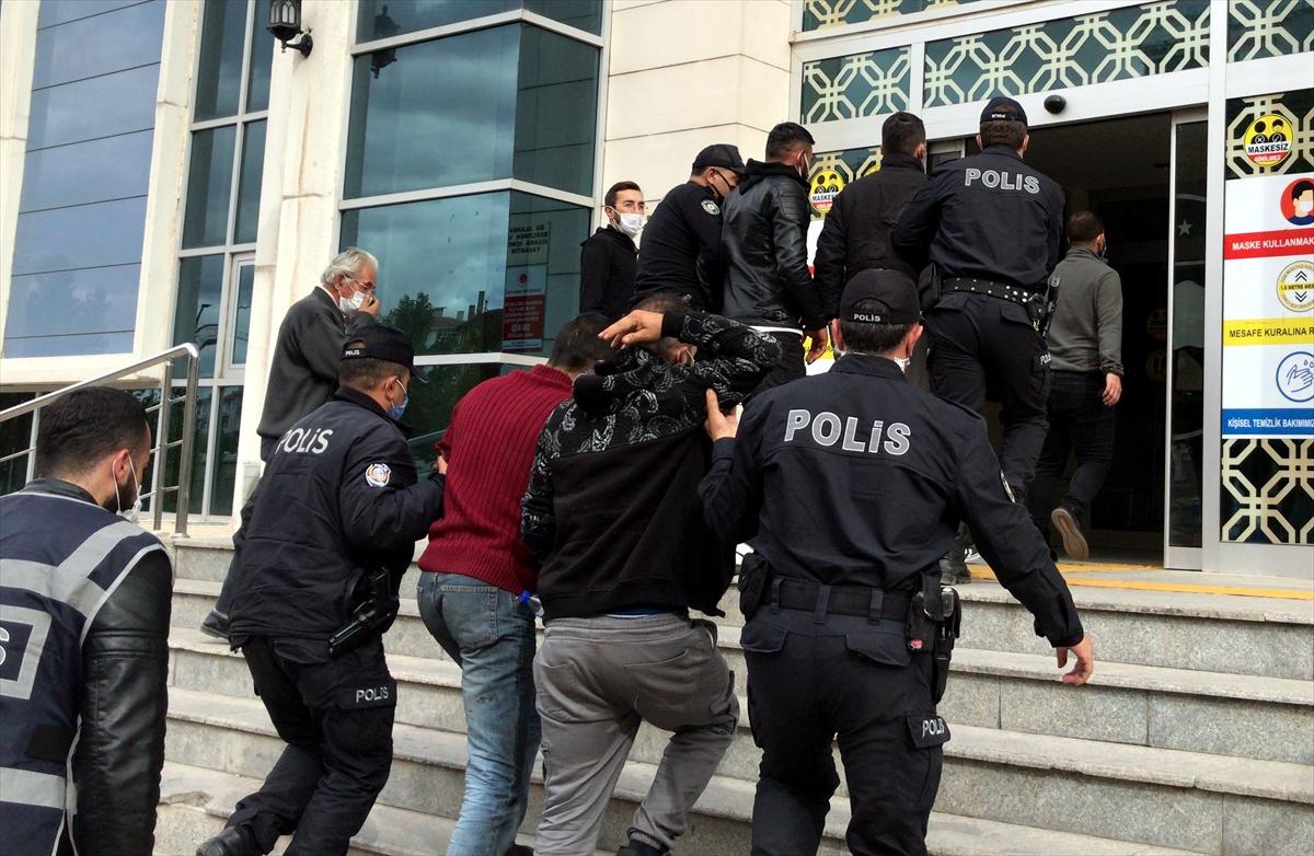 Kırşehir'de inşaat ve dairelerden malzeme çalan 4 zanlı yakalandı