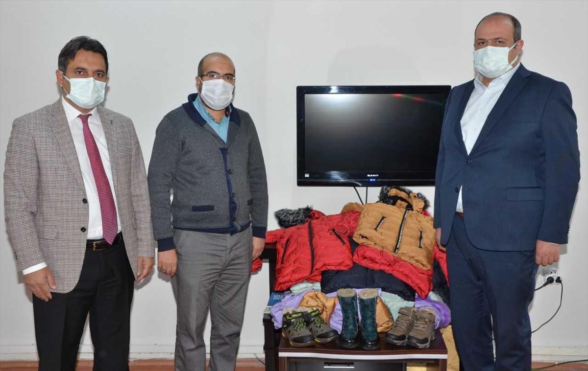 Kış aylarının sert geçtiği Erzurum'da ihtiyaç sahibi öğrenciler yardımlarla ısınacak