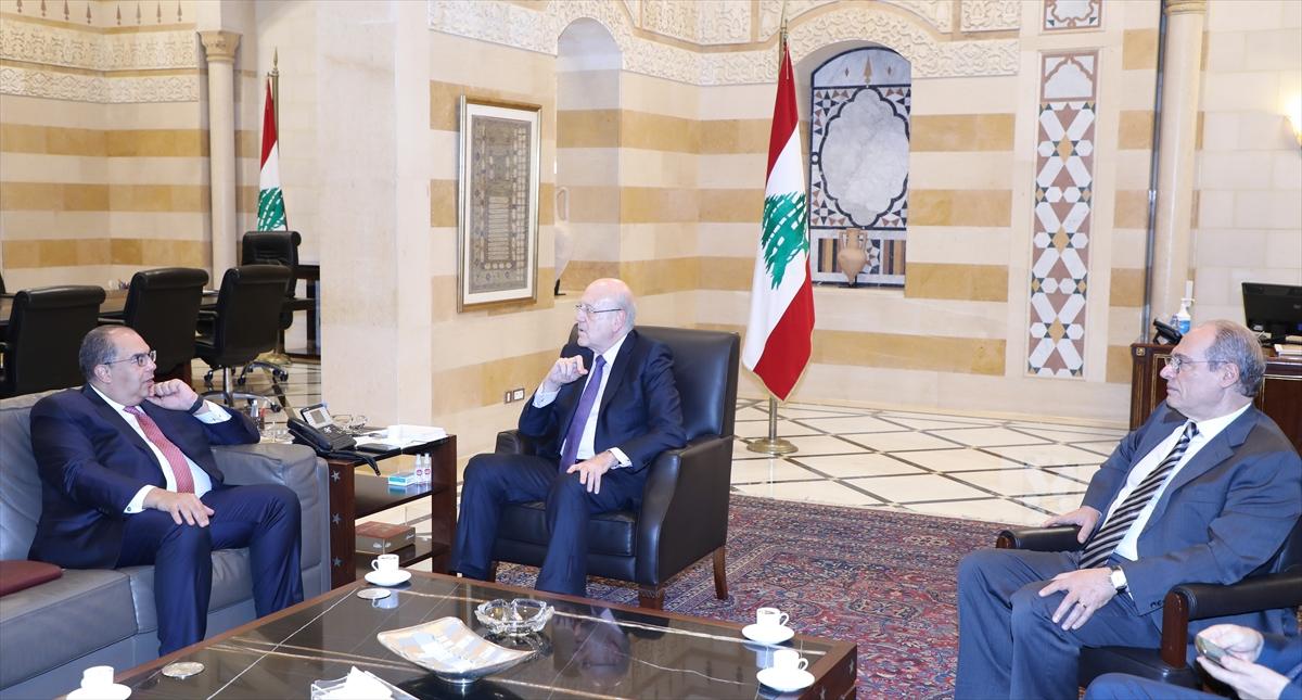 """Lübnan Başbakanı Mikati: """"IMF ile iş birliği programını yıl bitmeden tamamlamayı umuyoruz"""""""