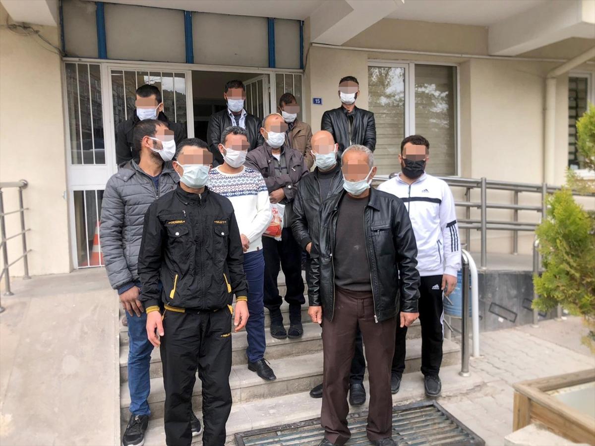Nevşehir'de yabancı uyruklu 11 şüpheli sınır dışı edilecek