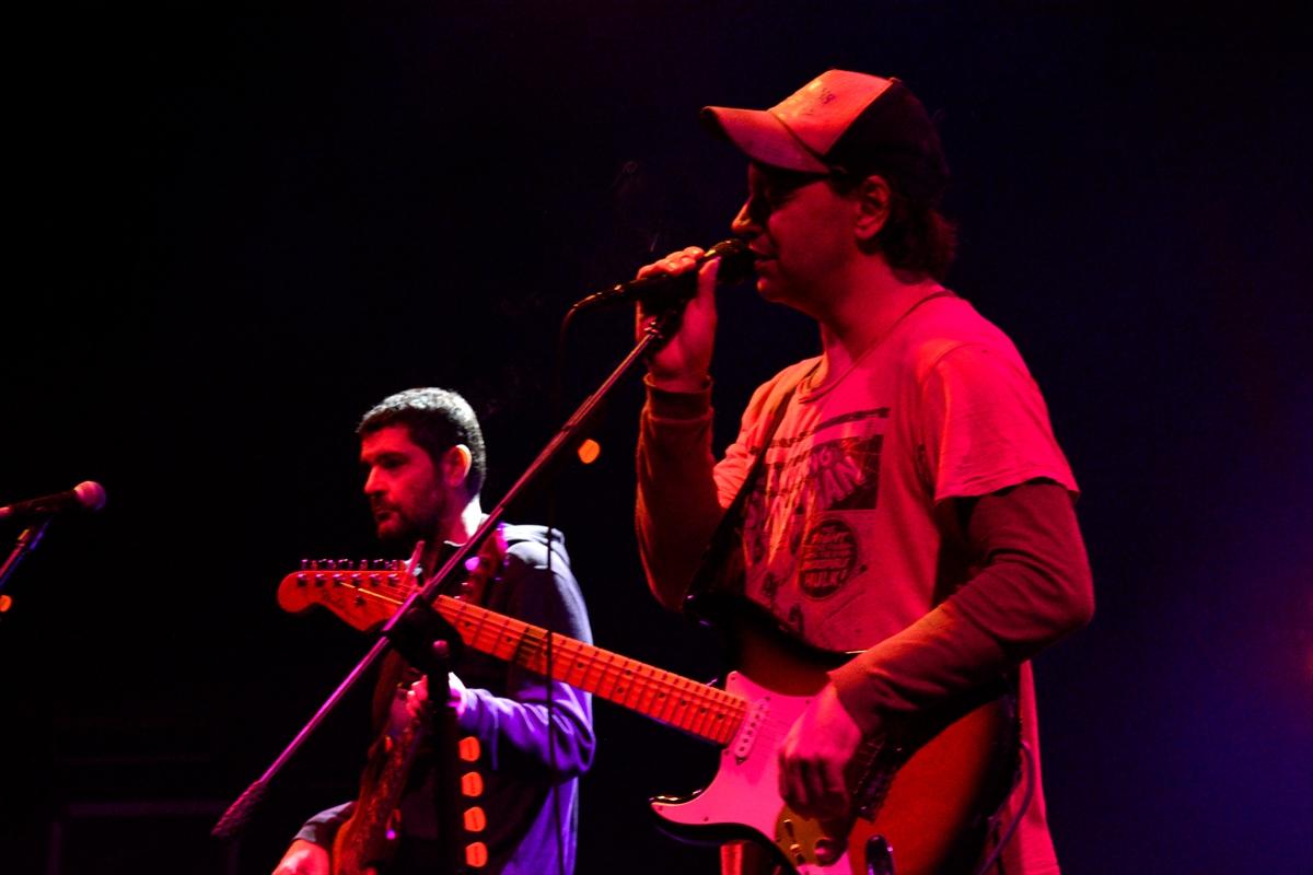 Rock müzik grubu Duman, Bursa'da konser verdi