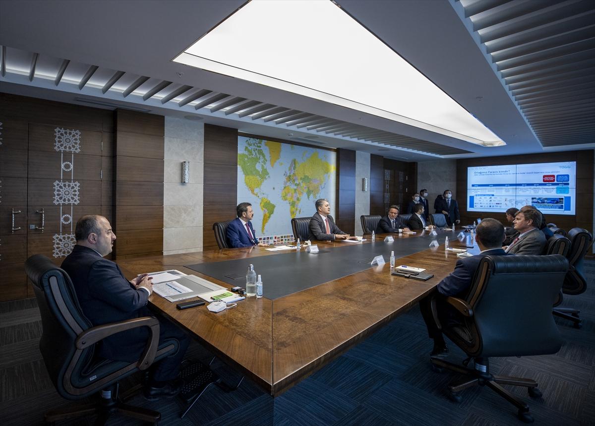 TOGG'a güç verecek ortak batarya şirketi SiRo'dan heyet, Cumhurbaşkanlığı Külliyesi'nde