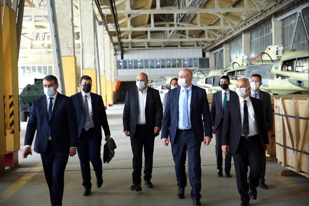 Türkiye ile Gürcistan arasında askeri havacılık alanında iş birliğinin geliştirilmesi planlanıyor