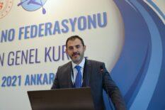 Kano Federasyonu'nda Alper Cavit Kabakçı, yeniden başkan seçildi
