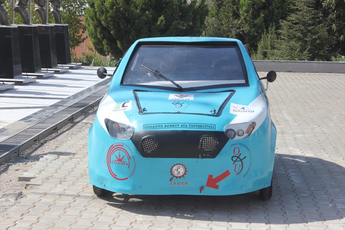 """Üniversitelilerin geliştirdiği elektrikli otomobil """"Börü"""" gelecek için umut veriyor"""