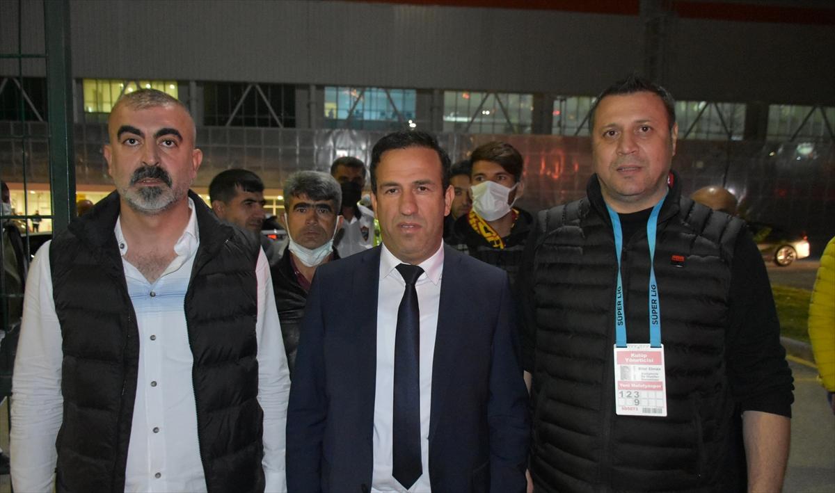 Yeni Malatyaspor-Altay maçının ardından