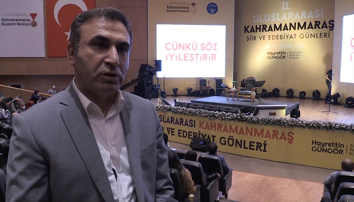 Yerli ve yabancı şairler Kahramanmaraş'ta buluştu